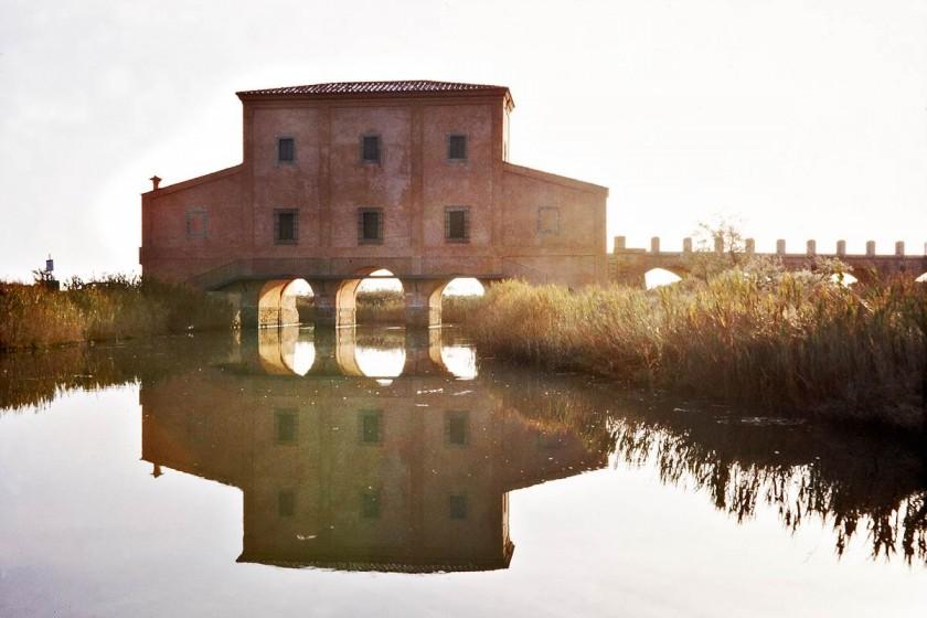 Die Casa Rossa bei Castiglione della Pescaia