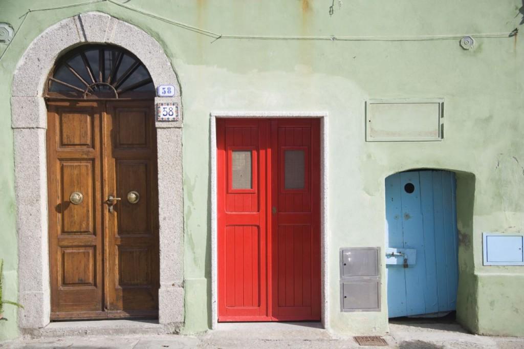 Welche Tür? Welche Tour? Sie haben die Wahl! Foto: Carlo Bonazza